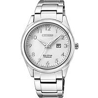orologio solo tempo uomo Citizen Super Titanio EW2470-87A