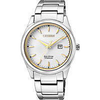 orologio solo tempo uomo Citizen Super Titanio EW2470-87B