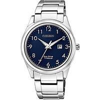 orologio solo tempo uomo Citizen Super Titanio EW2470-87M