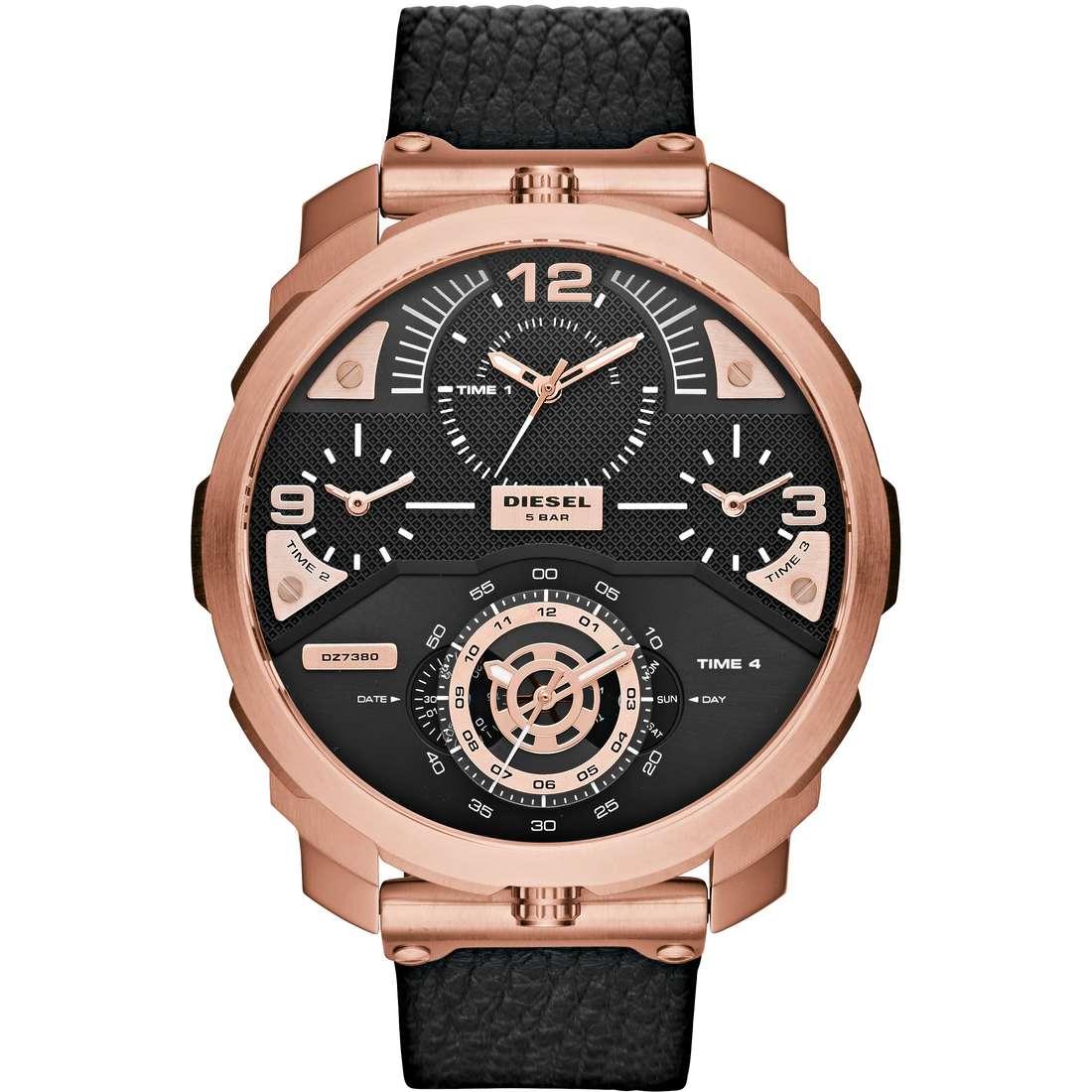 orologio solo tempo uomo Diesel Machinus DZ7380