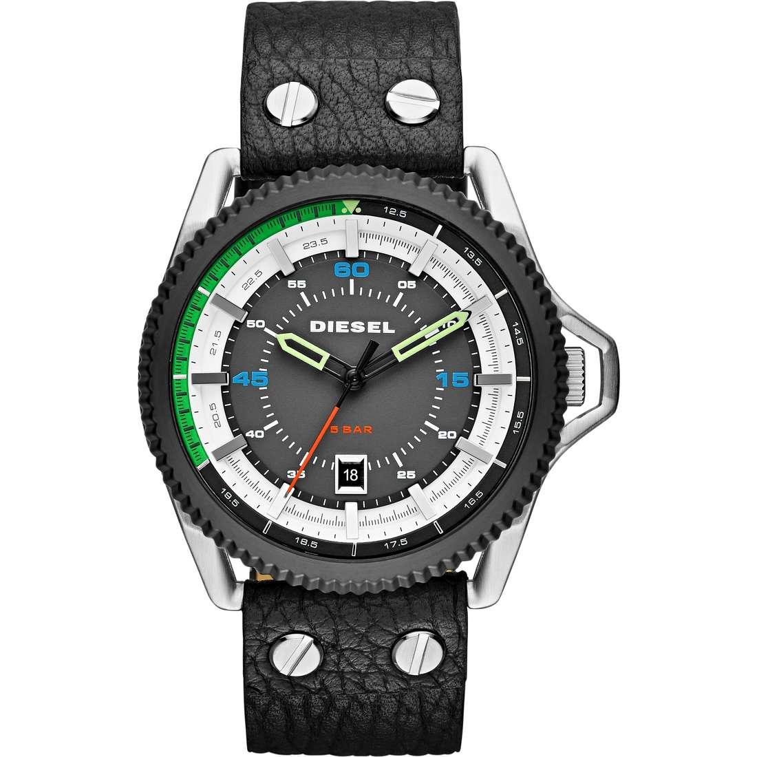 orologio solo tempo uomo Diesel Rollcage DZ1717
