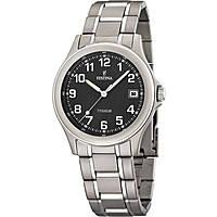 orologio solo tempo uomo Festina Calendario Titanium F16458/3