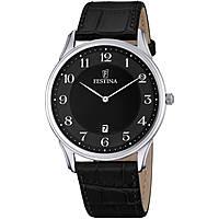 orologio solo tempo uomo Festina Correa Clasico F6851/4