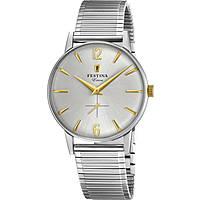 orologio solo tempo uomo Festina Extra Collection F20250/2
