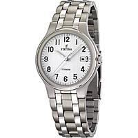 orologio solo tempo uomo Festina Titanium F16460/1