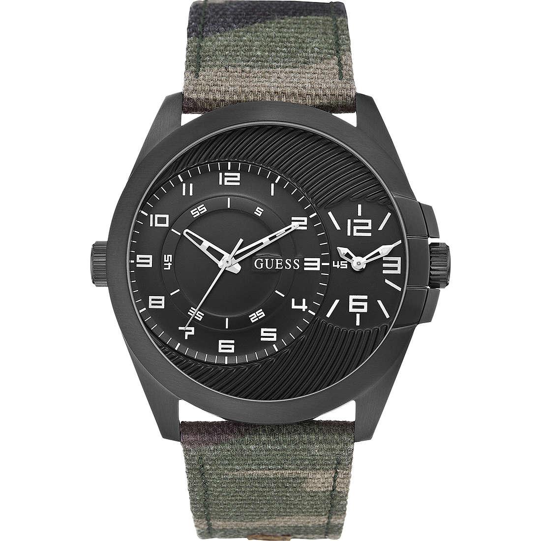 orologio solo tempo uomo Guess Alpha W0505G1