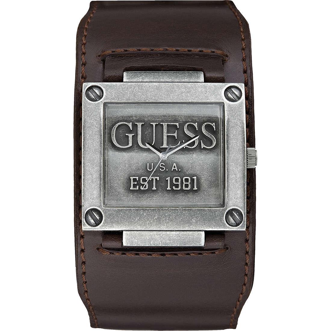 orologio solo tempo uomo Guess Cuff W0418G1