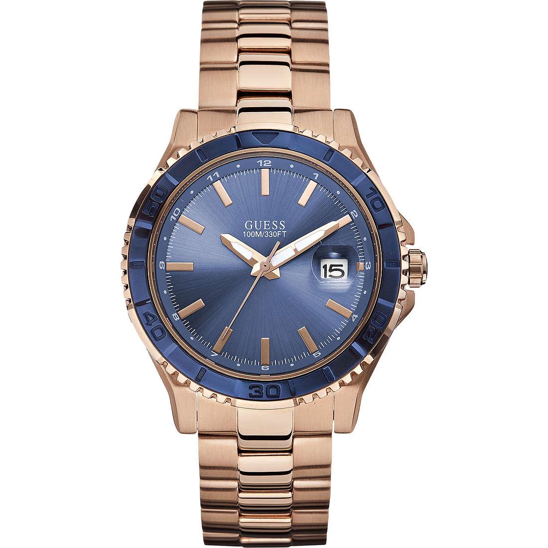 orologio solo tempo uomo Guess Plugged W0244G3
