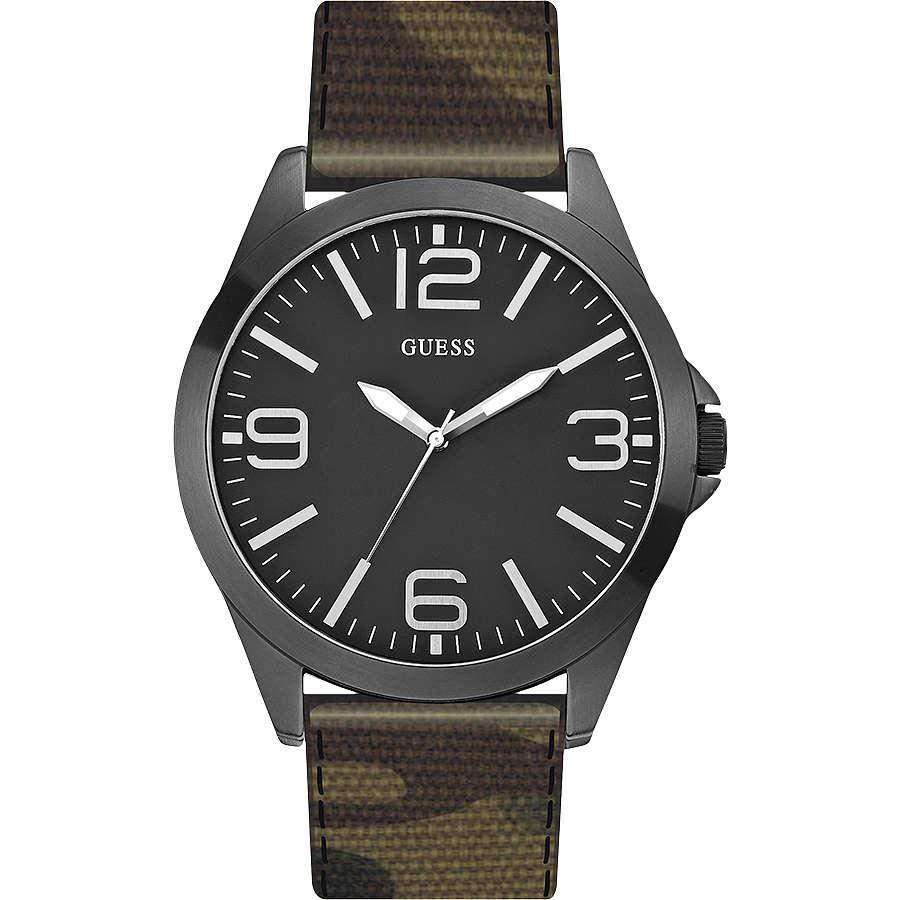 orologio solo tempo uomo Guess W0181G5