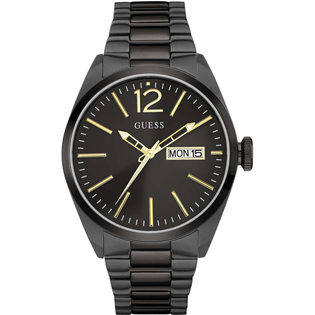 orologio solo tempo uomo Guess W0657G2