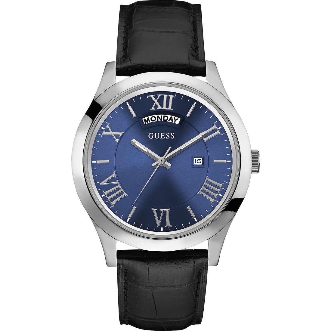 orologio solo tempo uomo Guess W0792G1
