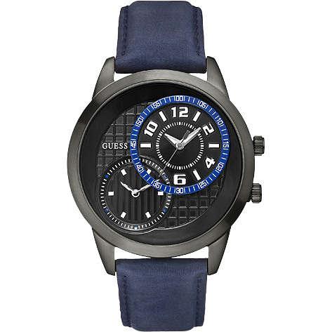 orologio solo tempo uomo Guess W11174G2