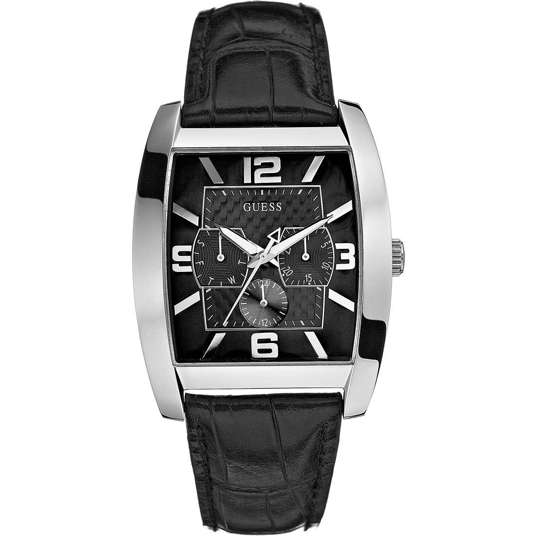 orologio solo tempo uomo Guess W80009G1