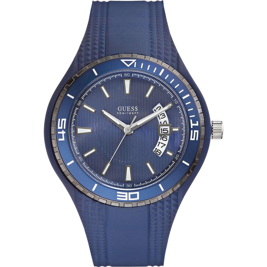 orologio solo tempo uomo Guess W95143G4
