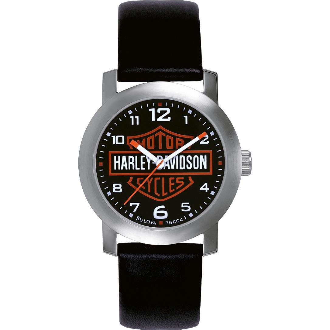 orologio solo tempo uomo Harley Davidson 76A04