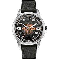 orologio solo tempo uomo Harley Davidson 76A155