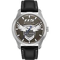 orologio solo tempo uomo Harley Davidson 76A160