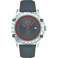 orologio solo tempo uomo Harley Davidson 76B167