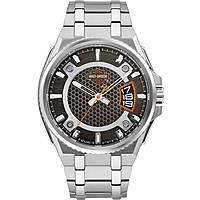 orologio solo tempo uomo Harley Davidson 76B180