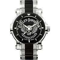 orologio solo tempo uomo Harley Davidson 78A109