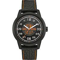 orologio solo tempo uomo Harley Davidson 78A116