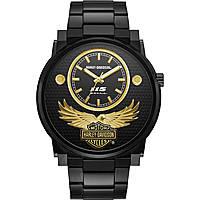 orologio solo tempo uomo Harley Davidson 78A119
