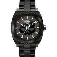 orologio solo tempo uomo Harley Davidson 78B135