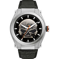orologio solo tempo uomo Harley Davidson Heavy Metal 76A156