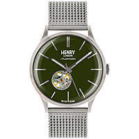 orologio solo tempo uomo Henry London Automatic HL42-AM-0283