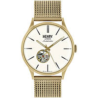 orologio solo tempo uomo Henry London Automatic HL42-AM-0284