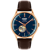 orologio solo tempo uomo Henry London Automatic HL42-AS-0278