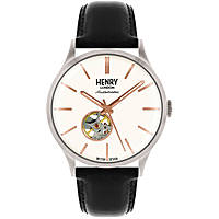 orologio solo tempo uomo Henry London Automatic HL42-AS-0279