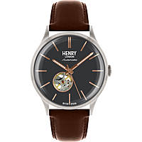 orologio solo tempo uomo Henry London Automatic HL42-AS-0281