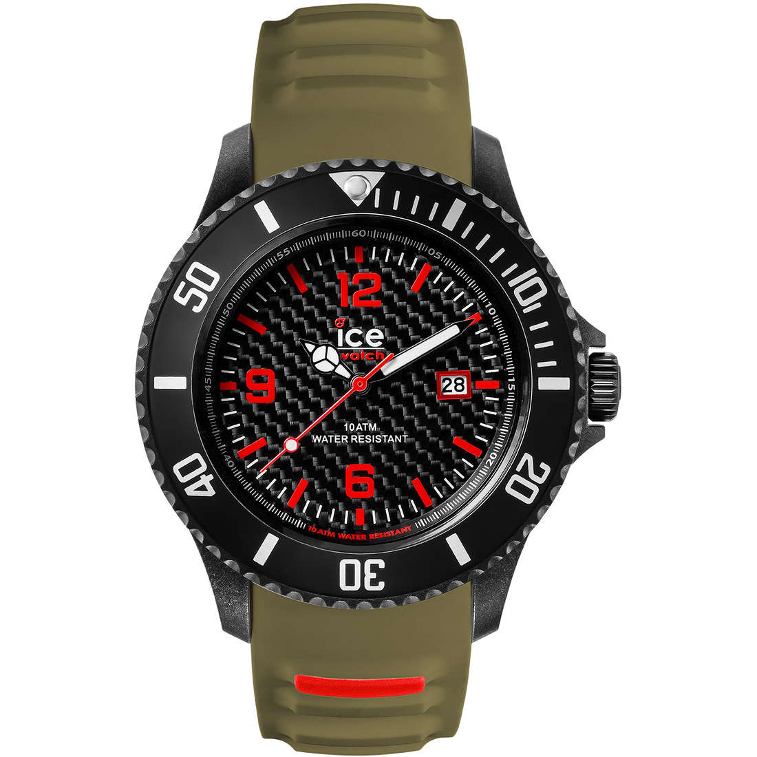 orologio solo tempo uomo ICE WATCH Ice Carbon IC.CA.3H.BKA.B.S15