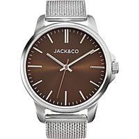 orologio solo tempo uomo Jack&co Marcello JW0165M4