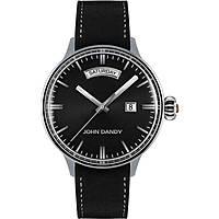 orologio solo tempo uomo John Dandy JD-2572M/01