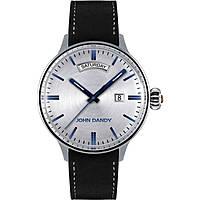 orologio solo tempo uomo John Dandy JD-2572M/02