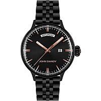 orologio solo tempo uomo John Dandy JD-2572M/04M