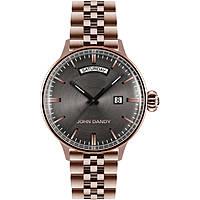 orologio solo tempo uomo John Dandy JD-2572M/06M