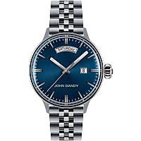 orologio solo tempo uomo John Dandy JD-2572M/07M