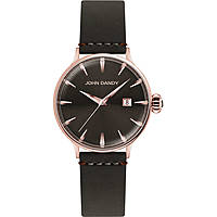 orologio solo tempo uomo John Dandy JD-2609M/04