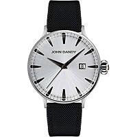 orologio solo tempo uomo John Dandy JD-2609M/13