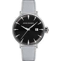 orologio solo tempo uomo John Dandy JD-2609M/14
