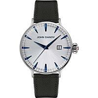 orologio solo tempo uomo John Dandy JD-2609M/15
