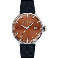 orologio solo tempo uomo John Dandy JD-2609M/16