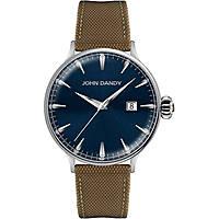 orologio solo tempo uomo John Dandy JD-2609M/17