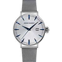 orologio solo tempo uomo John Dandy JD-2609M/18M