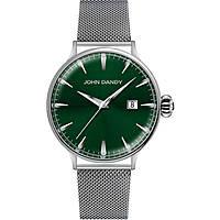 orologio solo tempo uomo John Dandy JD-2609M/19M