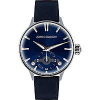 orologio solo tempo uomo John Dandy JD-3248M/01