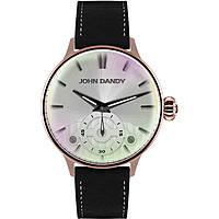orologio solo tempo uomo John Dandy JD-3248M/02